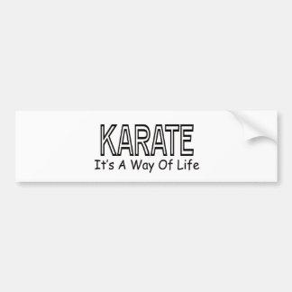 Karate It s A Way Of Life Bumper Sticker