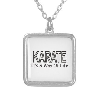 Karate It s A Way Of Life Pendant