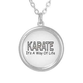 Karate It s A Way Of Life Necklaces