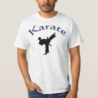 karate - Karate High Kick T Shirt Design