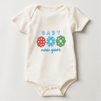 Karate Kat Baby New Year Baby Bodysuit