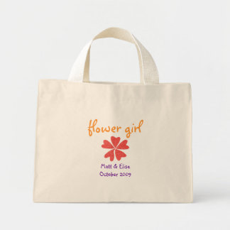 Karate Kat flower-girl tote