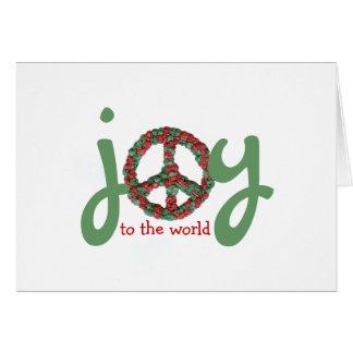 Karate Kat peace-and-joy Greeting Card