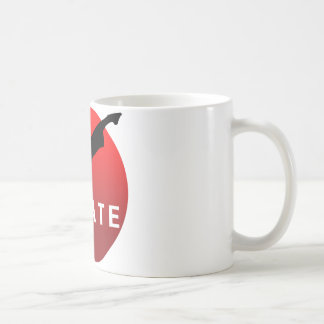 KARATE keri 2 Basic White Mug