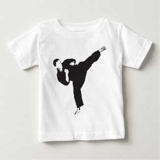 Karate Kick Baby T-Shirt