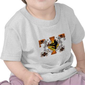 Karate kick tee shirts