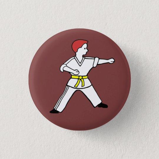 Karate Kid 11 Button