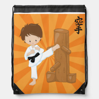 Karate Kids Drawstring Bag