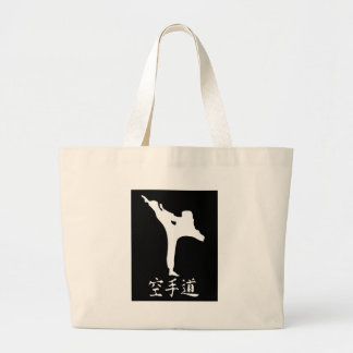 Karate Large Tote Bag