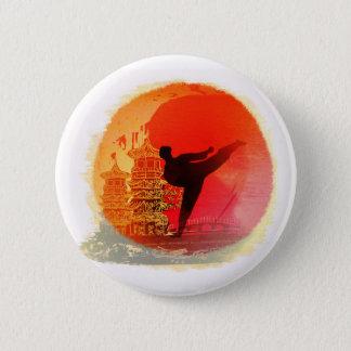 karate man Badge