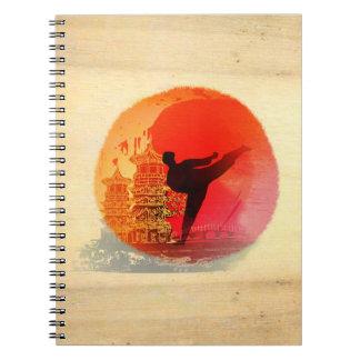 karate man Notebook