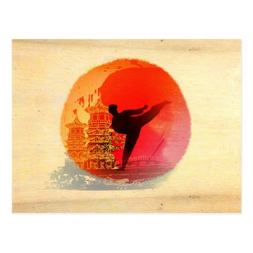 karate man Postcard