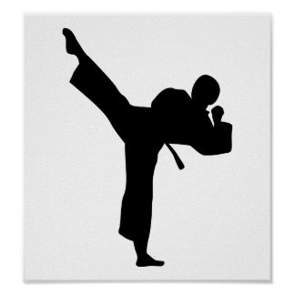 Karate Martial Arts Poster