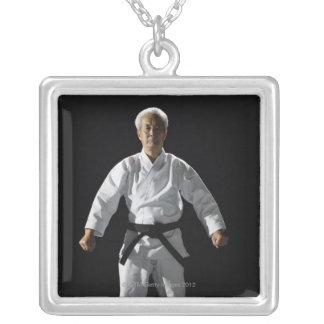 Karate master, portrait, studio shot pendant