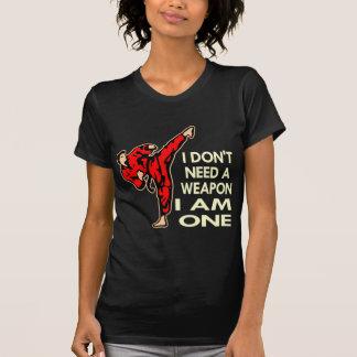 Karate, MMA, I AM A Weapon T-Shirt