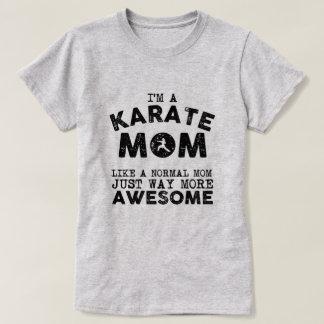 Karate Mom Vintage (Black) T-Shirt
