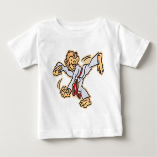 Karate-Monkey Baby T-Shirt