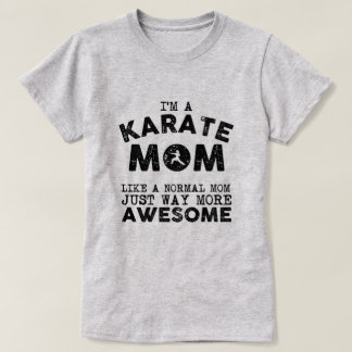 Karate Mum Vintage (Black) T-Shirt
