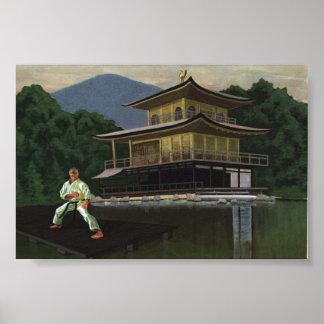 Karate Pavillion Poster