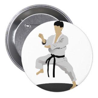 Karate Pose Button