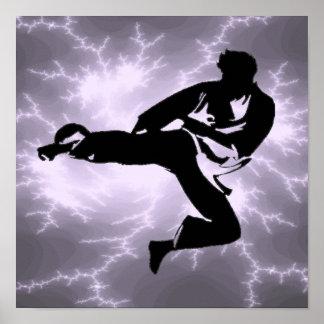 Karate Print