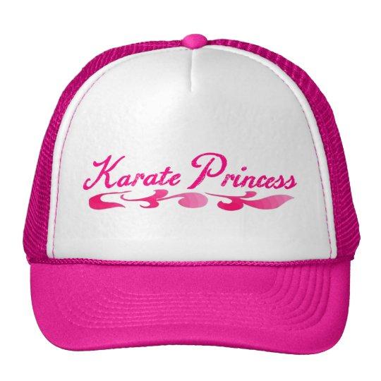 Karate Princess Swirl Hat Girls Gift