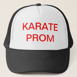 KARATE PROM TRUCKER HAT
