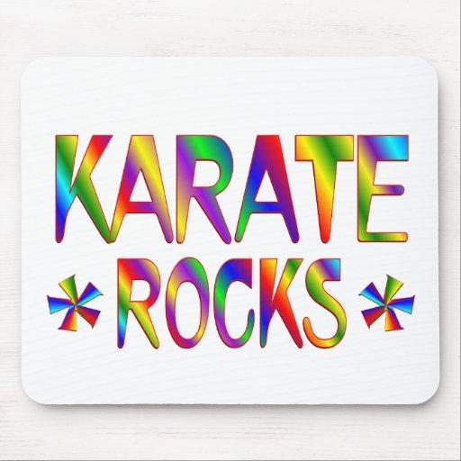 Karate Rocks Mousepads