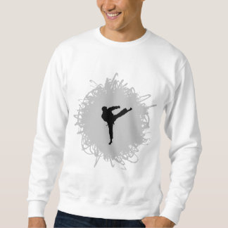 Karate Scribble Style Sweatshirt