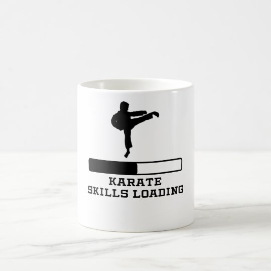 Karate Skills Loading Coffee Mug