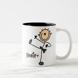 Karate Stick Figure Mug