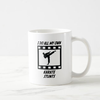 Karate Stunts Coffee Mug
