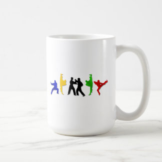 Karate Taekwando MMA Martial Arts Mens Athlete Basic White Mug