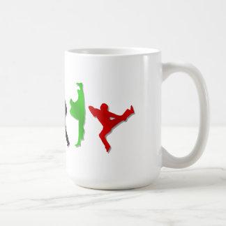 Karate Taekwando MMA Martial Arts Mens Athlete Basic White Mug