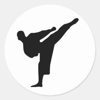 Karate / Taekwondo Kick Sticker