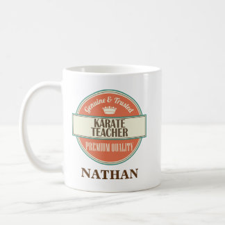 Karate Teacher Personalized Office Mug Gift