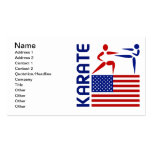 Karate United States Pack Of Standard Business Cards