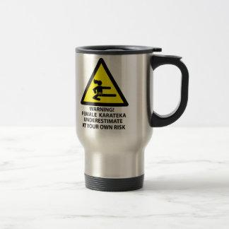 Karateka 15 Oz Stainless Steel Travel Mug