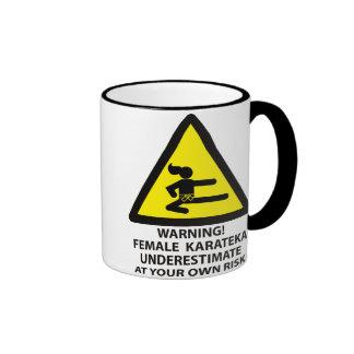 Karateka Ringer Mug