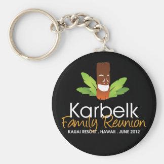Karbelk Family Reunion Men s Tiki Keychain
