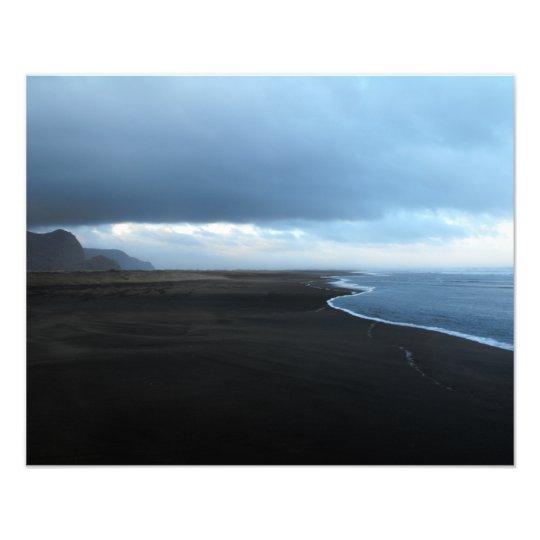 Karekare Beach New Zealand Photo Print
