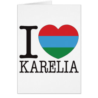 Karelia Love v2 Greeting Card