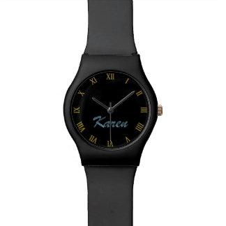 KAREN Name-Branded Customizable Wrist Watch Gift