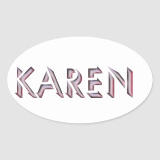 Karen sticker name