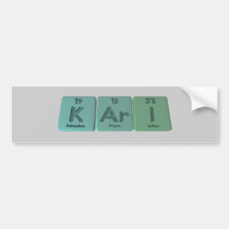 Kari as Potassium Argon Iodine Bumper Sticker