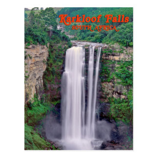 Karkloof falls, South Africa Postcard