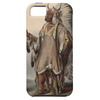 Karl Bodmer - A Mandan chief iPhone 5 Cover