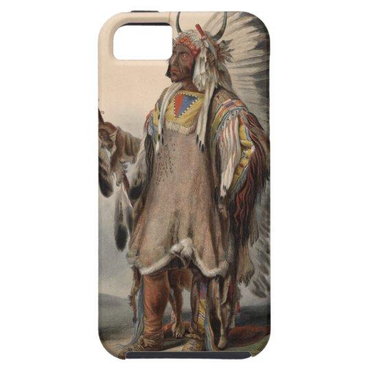 Karl Bodmer - A Mandan chief iPhone 5 Cover