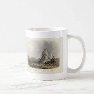 Karl Bodmer-Elkhorn Pyramid on the Upper Missouri Coffee Mug