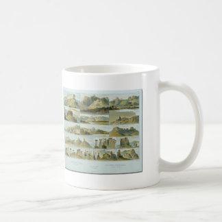 Karl Bodmer-Remarkable Hills on the Upper Missouri Coffee Mug